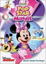 MICKEY MOUSE CLUBHOUSE POP STAR MINNIE New Sealed DVD Disney Junior