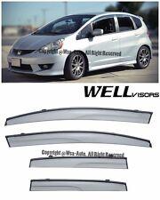 For 09-14 Fit WellVisors Side Window Visors Aerodyn Series Rain Guard