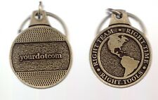 IBM Keychain Right Team Right Time Right Tools Your Dot Com Key Chain