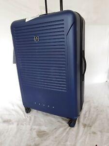 $300 Tag Riverside 28'' HardShell Spinner Lightweight Suitcase Luggage Blue Navy