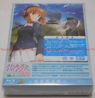 New Girls und Panzer der Film Limited Edition 3 Blu-ray CD Booklet Box Japan F/S