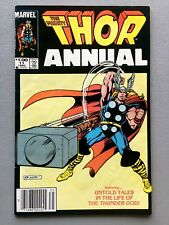 Marvel THOR ANNUAL #11 KEY Avengers Infinity War 1st EITRI Dwarf PETER DINKLAGE!
