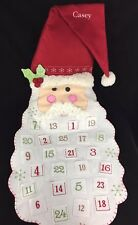 POTTERY BARN KIDS SANTA FACE ADVENT CHRISTMAS COUNTDOWN CALENDAR *CASEY* NEW