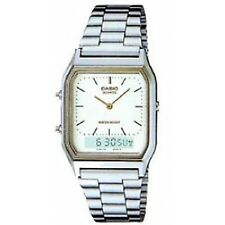 Casio Quartz Mens Watch Gents Combo Gold Plated Classic Mid 70s Charm RPR
