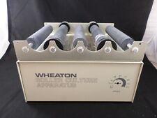 Wheaton Bench Top Mini Roller Culture Apparatus 120v 60hz 14 Watt 348916 Parts