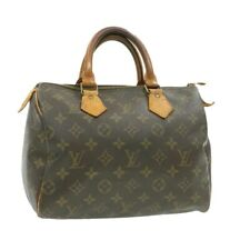 LOUIS VUITTON Monogram Speedy 25 Hand Bag M41528 LV Auth 17444