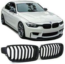 2 GRILLE DE CALANDRE NOIR BAD LOOK BMW SERIE 3 F30 F31 > 10/2011 SAUF LCI