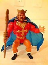 MOTU He-Man King Randor 100% Complete Rare Masters of the Universe