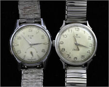Two Vintage Watches HAMILTON Electric & ELGIN Shockmaster - Service or Repair