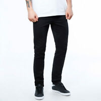 Jeans Pantalone Aderente Casual Elasticizzato Uomo Nero JUNYARD Digger Nero 45