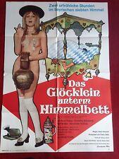 Das Glöcklein unterm Himmelbett Kinoplakat Filmplakat A1 Poster 1970