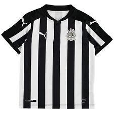 Newcastle United Football Home Jersey Shirt Tee Top 2017/18 Kids PUMA