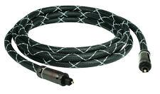 SunshineTronic BlackLine Professinal Optisches Kabel | Toslink | SPDIF | 2m