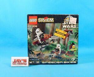 LEGO 7128 System Star Wars Speeder Bikes 90 Pieces Factory Sealed