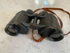 Vintage Huet Paris Trinotix Binoculars 1935 pre Wwii Artillery