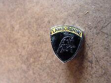 LAMBORGHINI ORIGINALE CROMO SMALTO showroom bavero pin