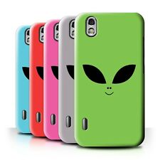 Back Case/Cover/Skin for LG Optimus Black P970/Extraterrestrial Alien Face