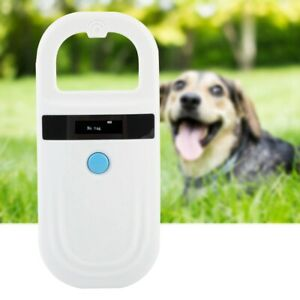 Scanner de puce animale rechargeable Microchip Scanner Pet Tag Scanner FR