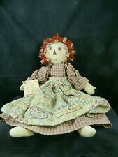 Hand Made Raggedy Ann Doll from Encks Country Crafts - Country Primitive