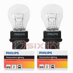 2 pc Philips Brake Light Bulbs for Cadillac 60 Special Brougham DeVille nj