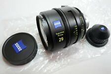 ZEISS Supreme Prime 29mm T1.5 Full Format Cine Lens in PL Mount Feet Scale