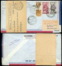 Used Air Mail Italian Stamps