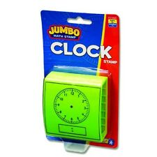 Jumbo Clock Stamp ~ Homeschool ~ Math ~ Teachers