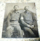 US ARMY CIVIL WAR SOLDIERS TINTYPE TINTYPES DAMAGED for sale