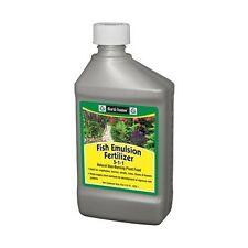 Fertilome Fish Emulsion 5-1-1, Natural Organic Fertilizer 16 or 32 oz