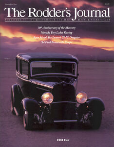 No. 44 Subscriber Cover A 1932 Ford RODDERS JOURNAL