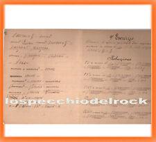 QD.504 - Fogli di quaderno con esercizi di matematica -