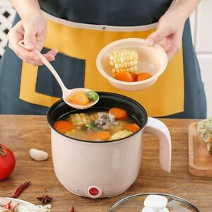 Double Layer Multifunctional Non-Stick Electric Steamer Rice Cooker Frying Pan-