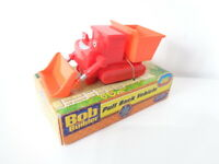 Bob the Builder Muck the Digger Pull Back Vehicle Snap Trax - New