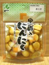 Pickled Garlic 60g, Soy Sauce Taste with Rice Black Vinegar, Japanese Pickles