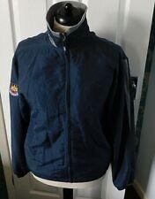 Reebok WEST HAM UNITED Blue Football Training Top Jacket Size Small