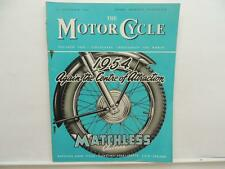 Sept 1953 The Motorcycle Magazine Matchless Clubman Scarborough Races BSA L8295