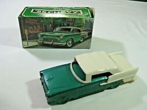 Vintage Avon '55 Chevy Cologne Bottle filled w/Wild Country After Shave + box