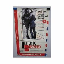 LETTERS TO BREZHNEV Peter Firth British Original Vintage Home Video Movie Poster