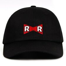 RR Baseball Cap Dragon Ball Dr.Gero Dad Hat 100% Cotton Red Ribbon Army Delicate