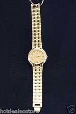 Thin - Gorgeous & Rare Find Unisex Pulsar Watch (by Seiko) V701-X094 Gold Tone