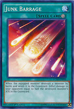 Junk Barrage Spell Common Yugioh Card LC5D-EN044