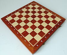 New madon tournament number 5 Folding wood chess board 48cm