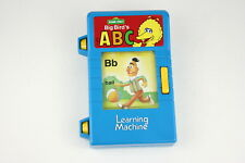 1988 Sesame Street Big Bird's ABC Learning Machine TYCO for PARTS OR REPAIR