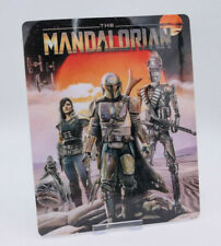 THE MANDALORIAN - Glossy Fridge / Bluray Steelbook Magnet Cover (NOT LENTICULAR)
