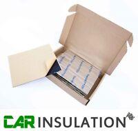 Car Audio Sound Deadening Proofing Noise Insulation 2 Sheets Doors Speakers Kit