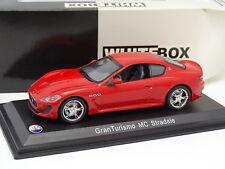 White Box 1/43 - Maserati GranTurismo MC Stradale Rouge