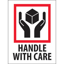 New Listing3 X 4 Handle With Care Labels 5000 Pcs