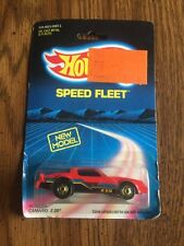 QF- HOT WHEELS SPEED FLEET CAMARO Z-28  1986   #33040