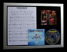 IRON MAIDEN Infinite Dreams TOP QUALITY CD LTD FRAMED DISPLAY+FAST GLOBAL SHIP