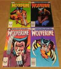 Wolverine 1-4 1982 complete limited mini-series 2 3 KEY Logan Miller Claremont